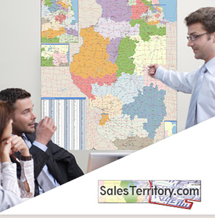 Sales Territory Maps